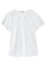 Rails Marisol Cotton Top - White