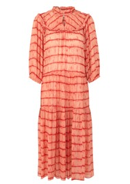 SECOND FEMALE Santiago Maxi Dress - Dusty Coral