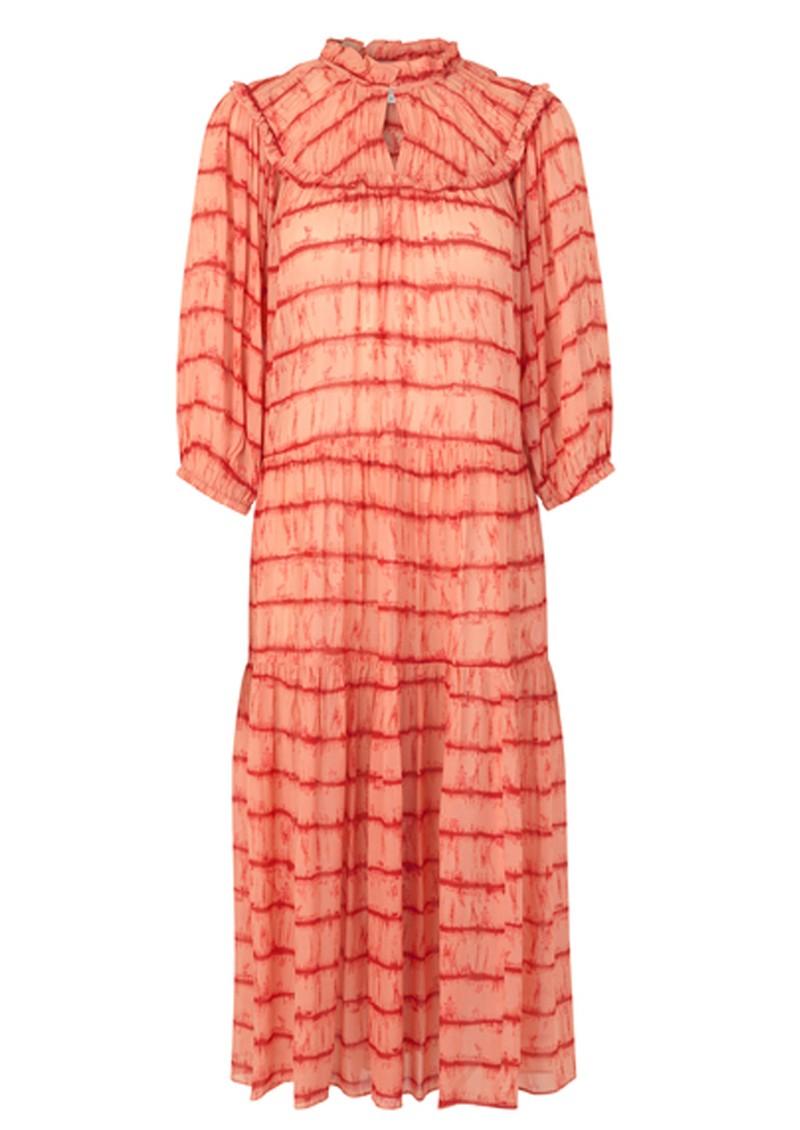 SECOND FEMALE Santiago Maxi Dress - Dusty Coral main image