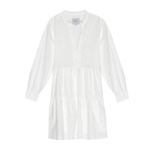Layla Cotton Dress - White
