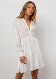 Rails Layla Cotton Dress - White