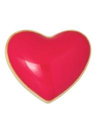 LULU COPENHAGEN Single Love U Stud Earring - Pink