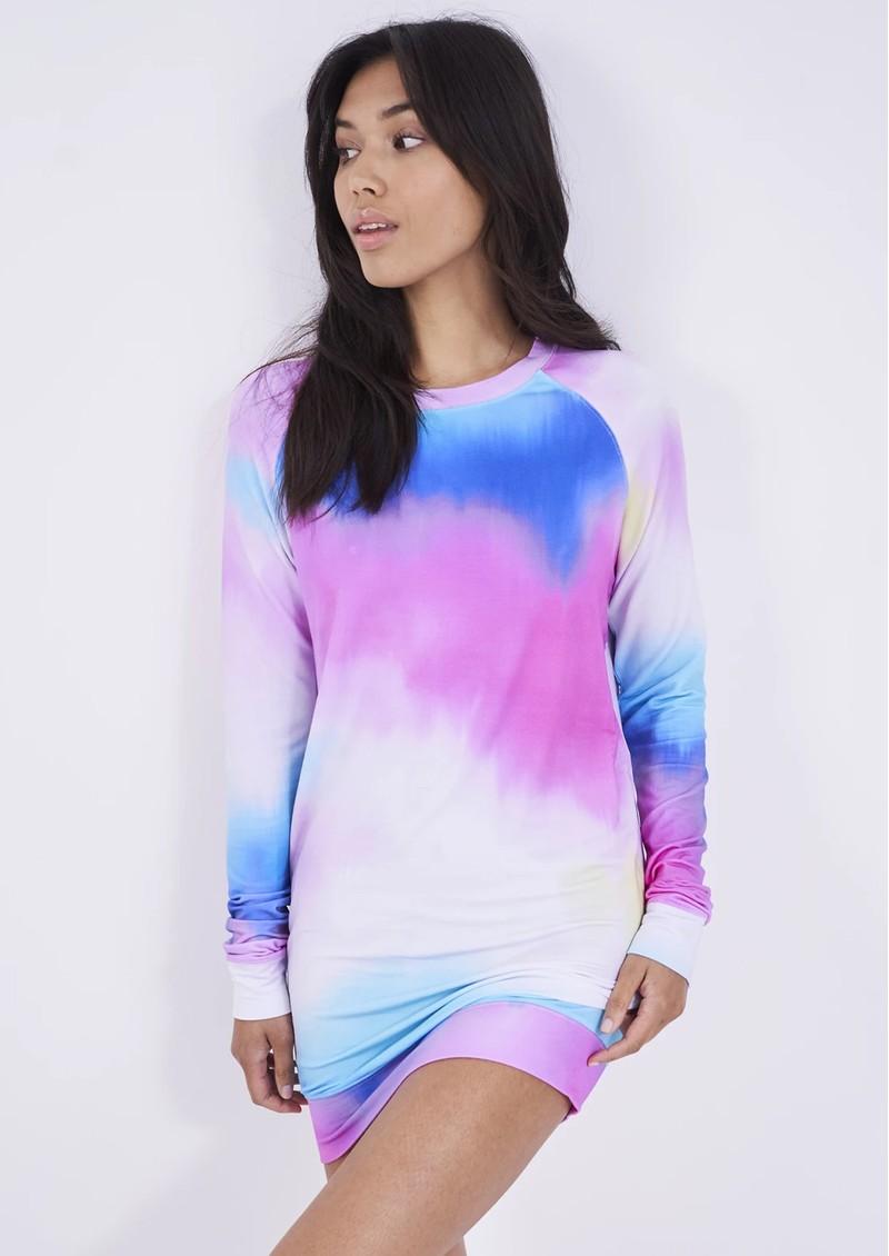STRIPE & STARE Sweatshirt Dress - Harbour Island main image