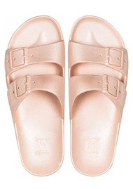 CACATOES Baleia Slider Sandals - Nude