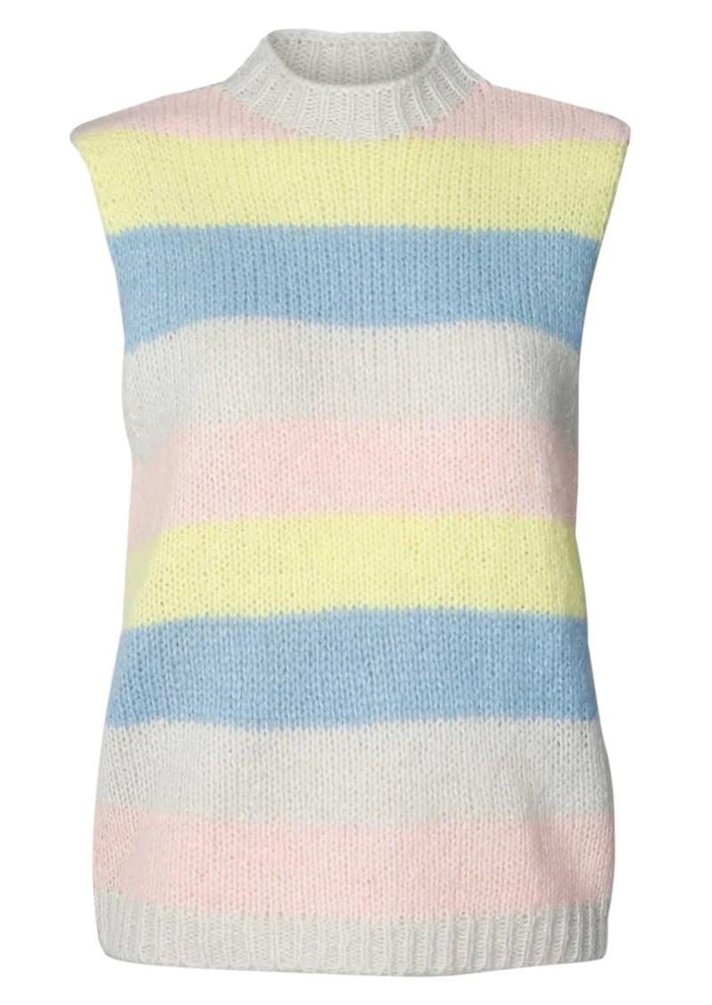 LOLLYS LAUNDRY Rosa Knitted Vest - Stripe main image