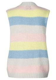 LOLLYS LAUNDRY Rosa Knitted Vest - Stripe