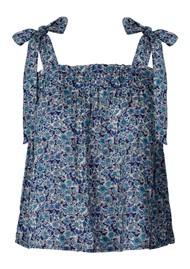 LOLLYS LAUNDRY Anne Top - Dark Blue