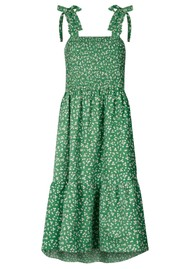 LOLLYS LAUNDRY Minna Cotton Dress - Green