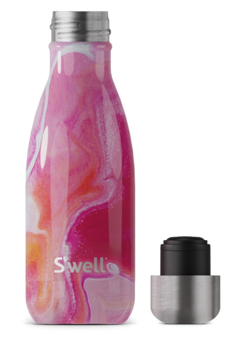 SWELL The Element 9oz Water Bottle - Rose Agate main image