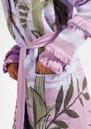 Drinking Tiger Cotton Jacquard Cardigan - Lilac additional image
