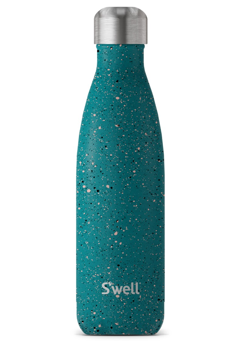 SWELL The Ceramics 17oz Water Bottle - Speckled Earth main image