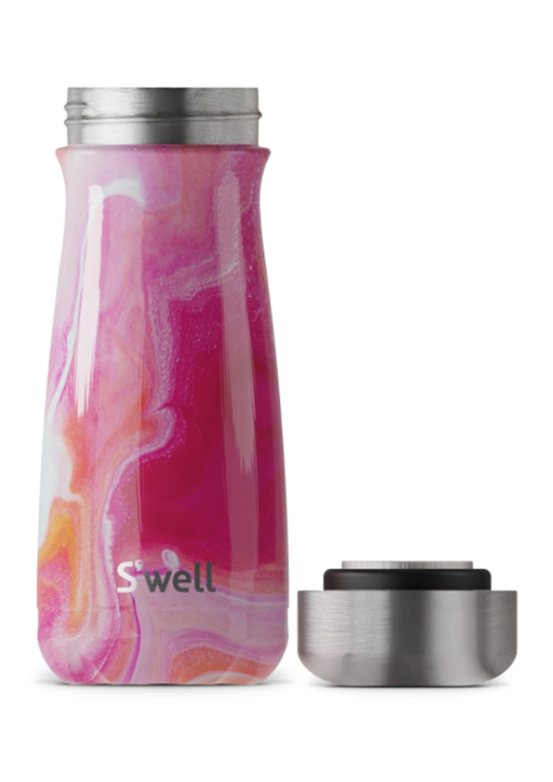 SWELL The Traveller 16oz Water Bottle - Rose Agate main image