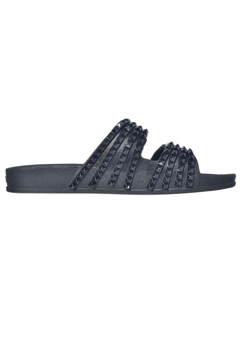 CACATOES Flox Studded Slider Sandals - Black main image