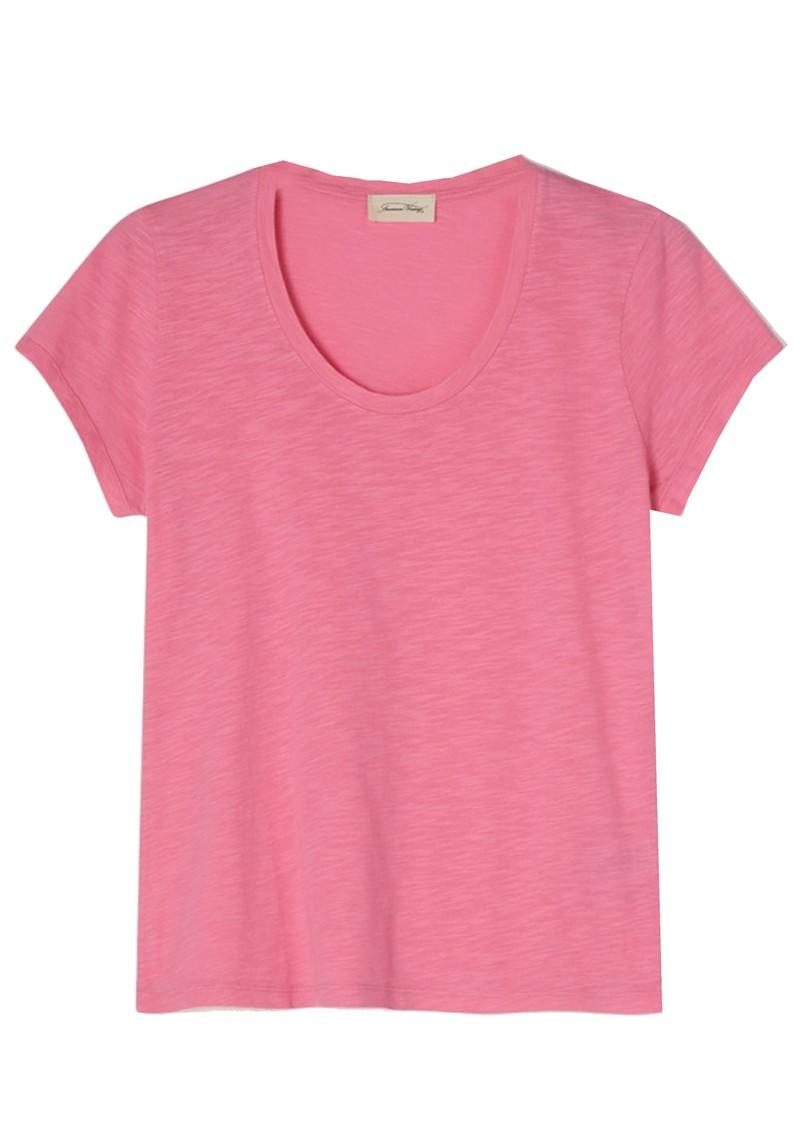 American Vintage Jacksonville U Neck Short Sleeve T-Shirt - Vintage Candy main image