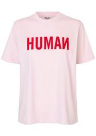 BAUM UND PFERDGARTEN Jalo Organic Cotton T-Shirt - Pink Human