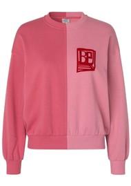 BAUM UND PFERDGARTEN Juine Organic Cotton Sweatshirt -Slate Rose