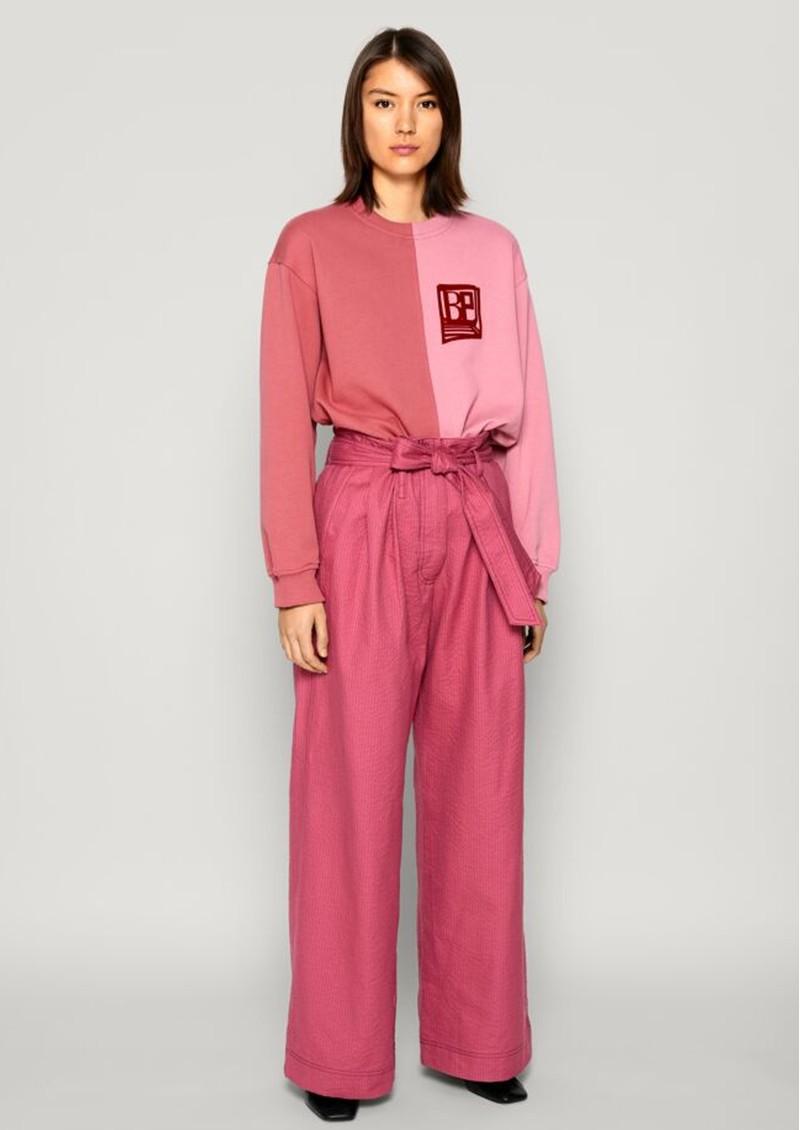 BAUM UND PFERDGARTEN Juine Organic Cotton Sweatshirt -Slate Rose main image