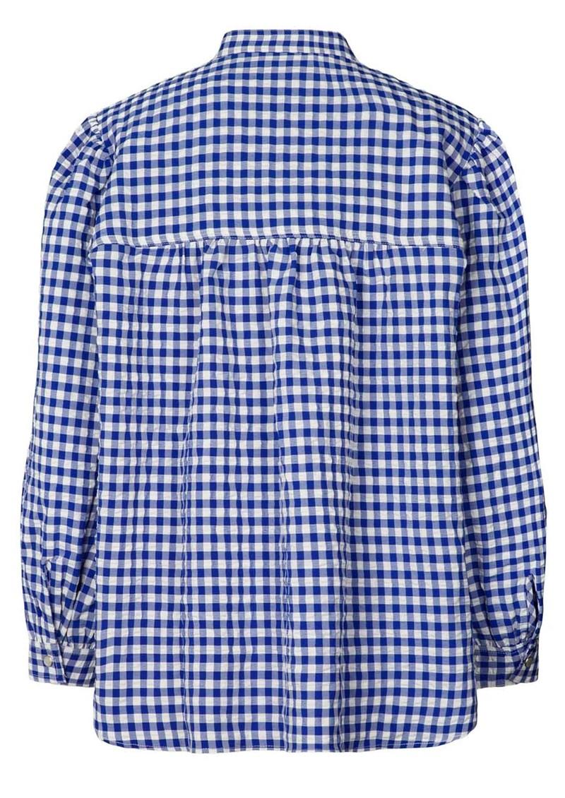 LOLLYS LAUNDRY Frankie Shirt - Neon Blue main image