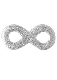 LULU COPENHAGEN Infinity Stud Earring - Silver