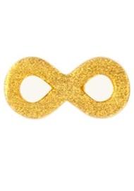 LULU COPENHAGEN Infinity Stud Earring - Gold