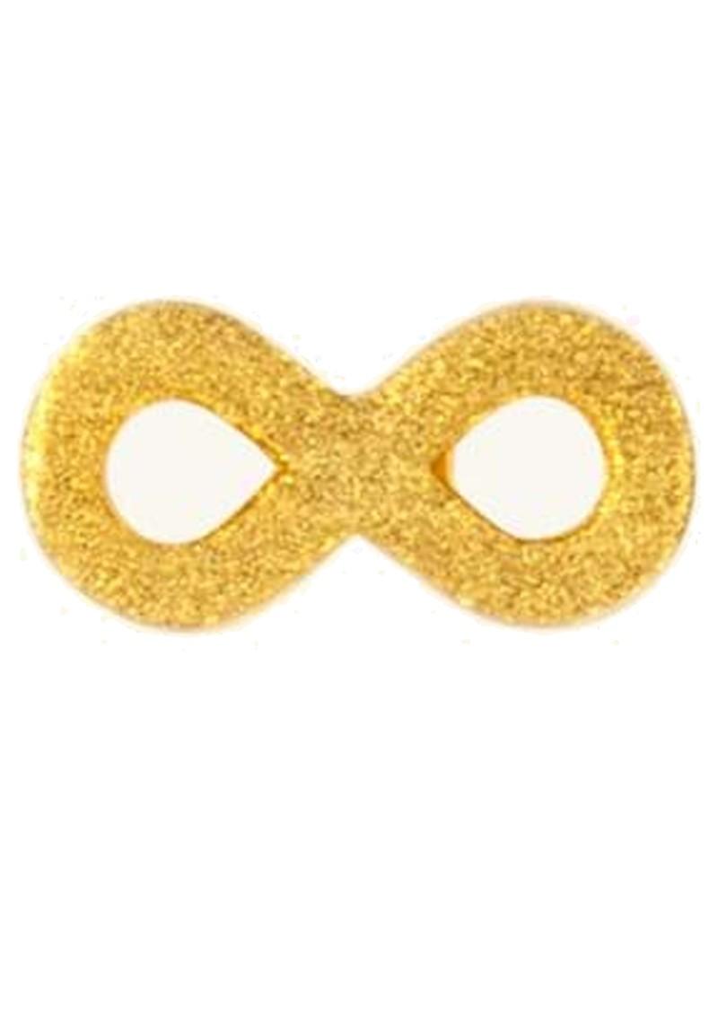 LULU COPENHAGEN Infinity Stud Earring - Gold main image