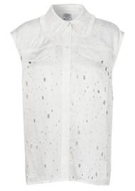 BAUM UND PFERDGARTEN Mukunda Sleeveless Shirt - Lacy White