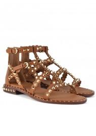 Ash Pixel Studded Sandal - New Cinnamon