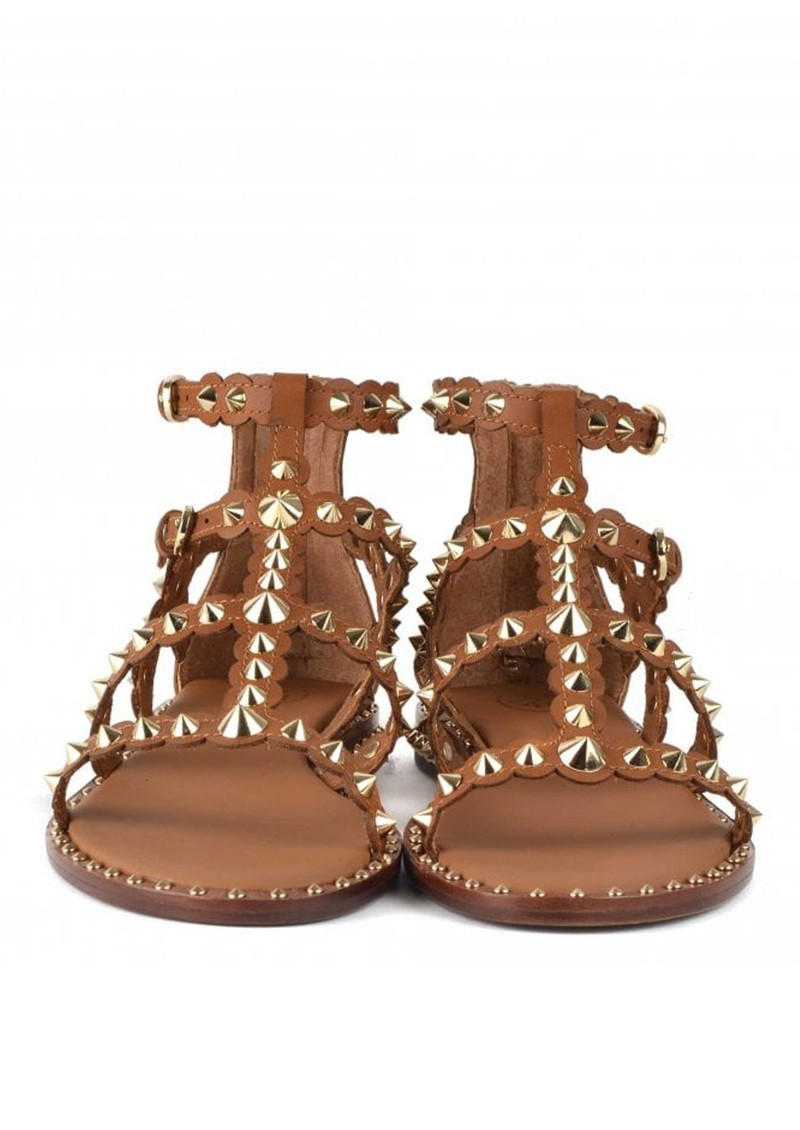 Ash Pixel Studded Sandal - New Cinnamon main image