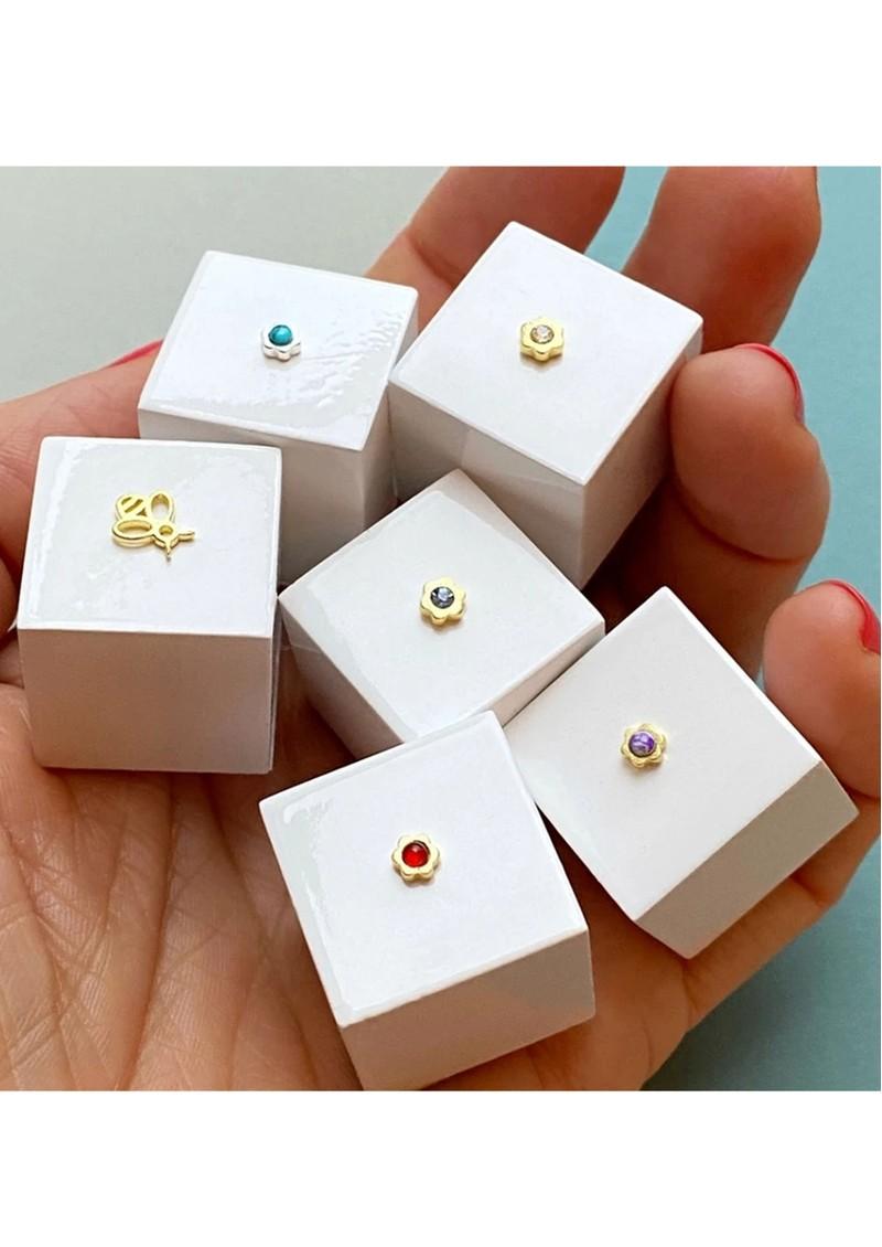 LULU COPENHAGEN Single Bzzzz Stud Earring - Gold main image