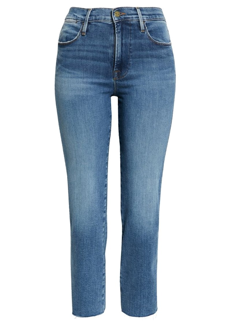Frame Denim Le High Straight Jeans - Tide Pool main image
