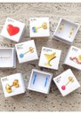 Family Love Stud Earrings - Gold additional image