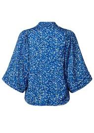 LOLLYS LAUNDRY Alba Kimono Top - Blue