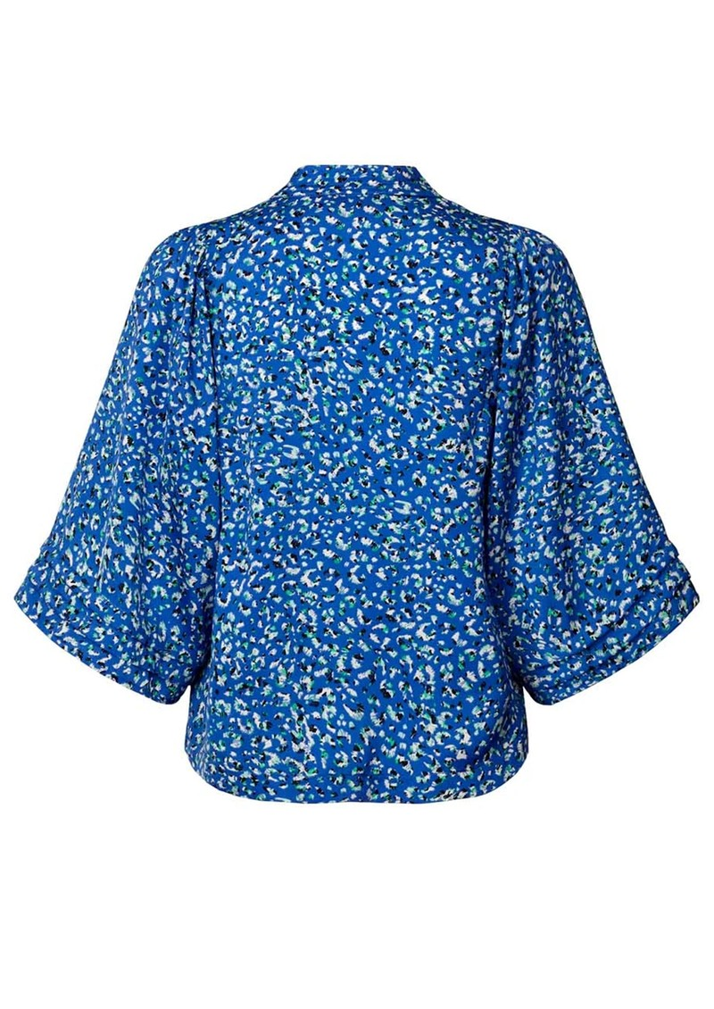 LOLLYS LAUNDRY Alba Kimono Top - Blue main image