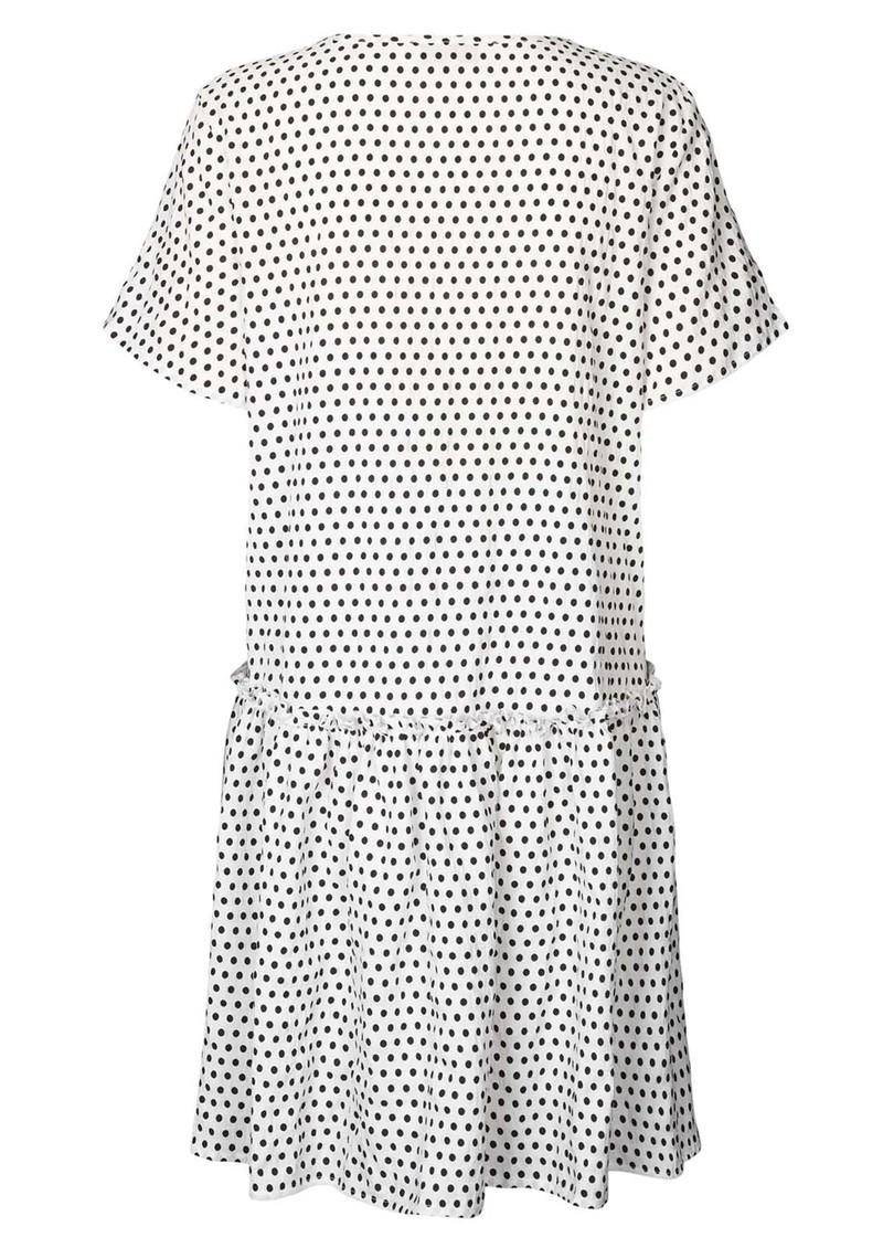 LOLLYS LAUNDRY Gili Polka Dot Dress - Creme main image
