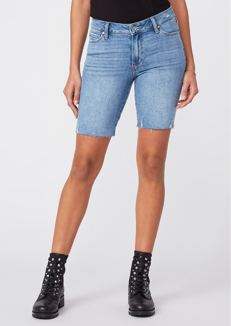 Paige Denim Jax Cut Off Shorts - Martina Distressed   main image