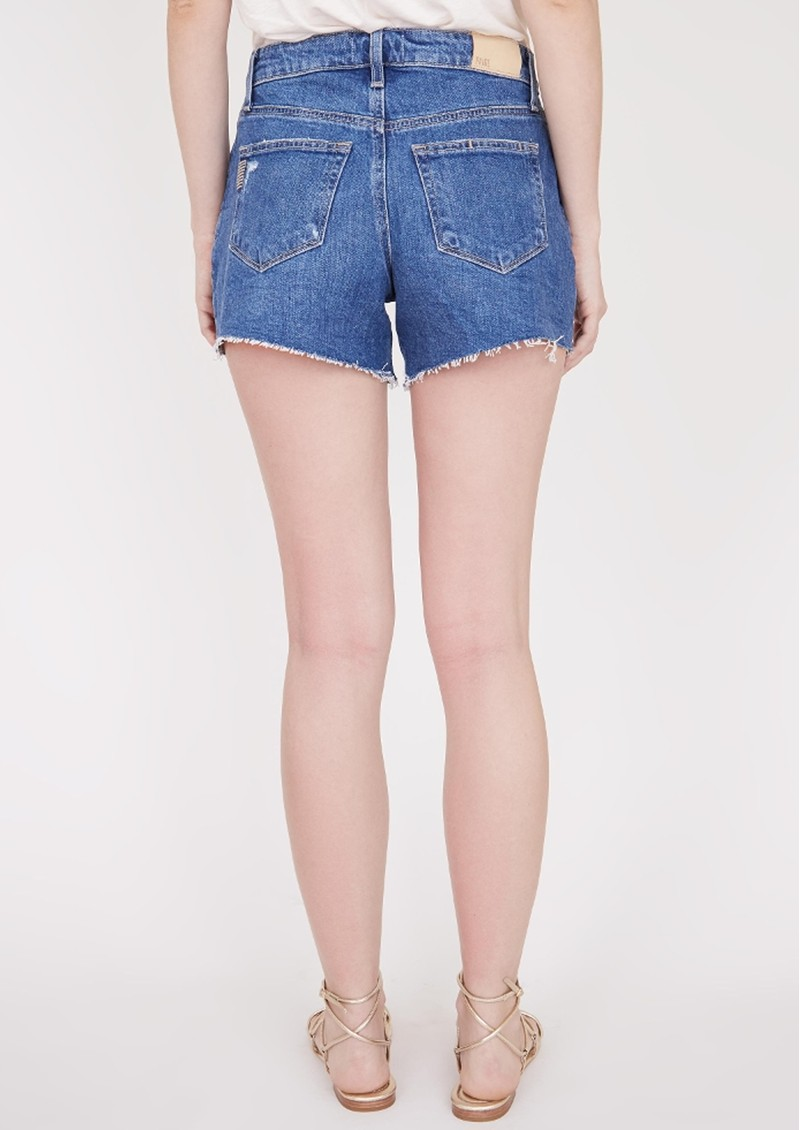Paige Denim Noella Raw Hem Cut Off Shorts - Stella Nova Distressed main image