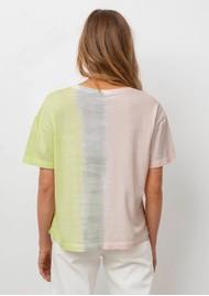 Rails The Pocket V Cotton Tee - Sherbert Dip Dye