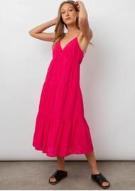 Rails Avil Cotton Dress - Fuchsia