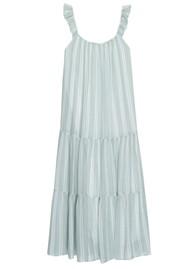 Rails Capri Linen Mix Dress - Juniper Stripe