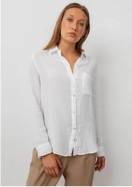Rails Ellis Cotton Shirt - White