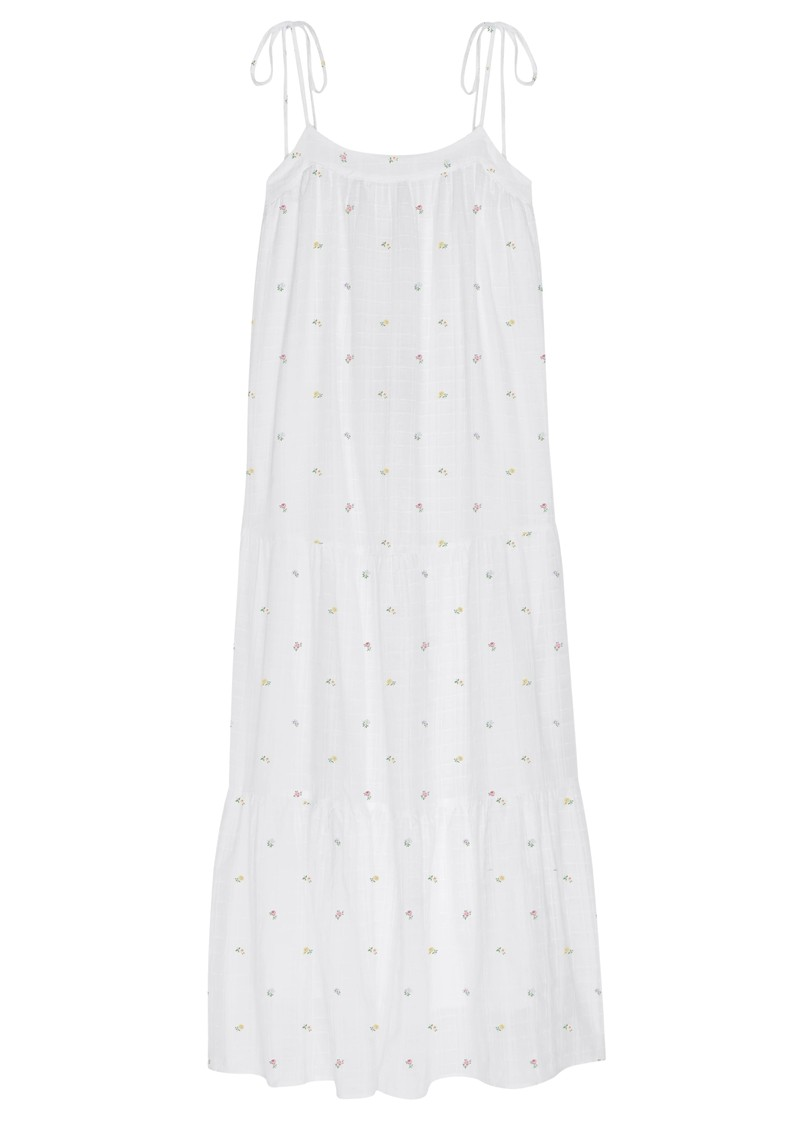 Rails Rosemary Cotton Dress - White Mini Buds main image