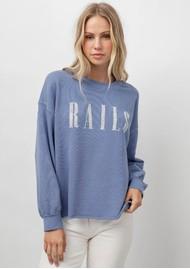 Rails Rails Signature Sweatshirt - Washed Indigo