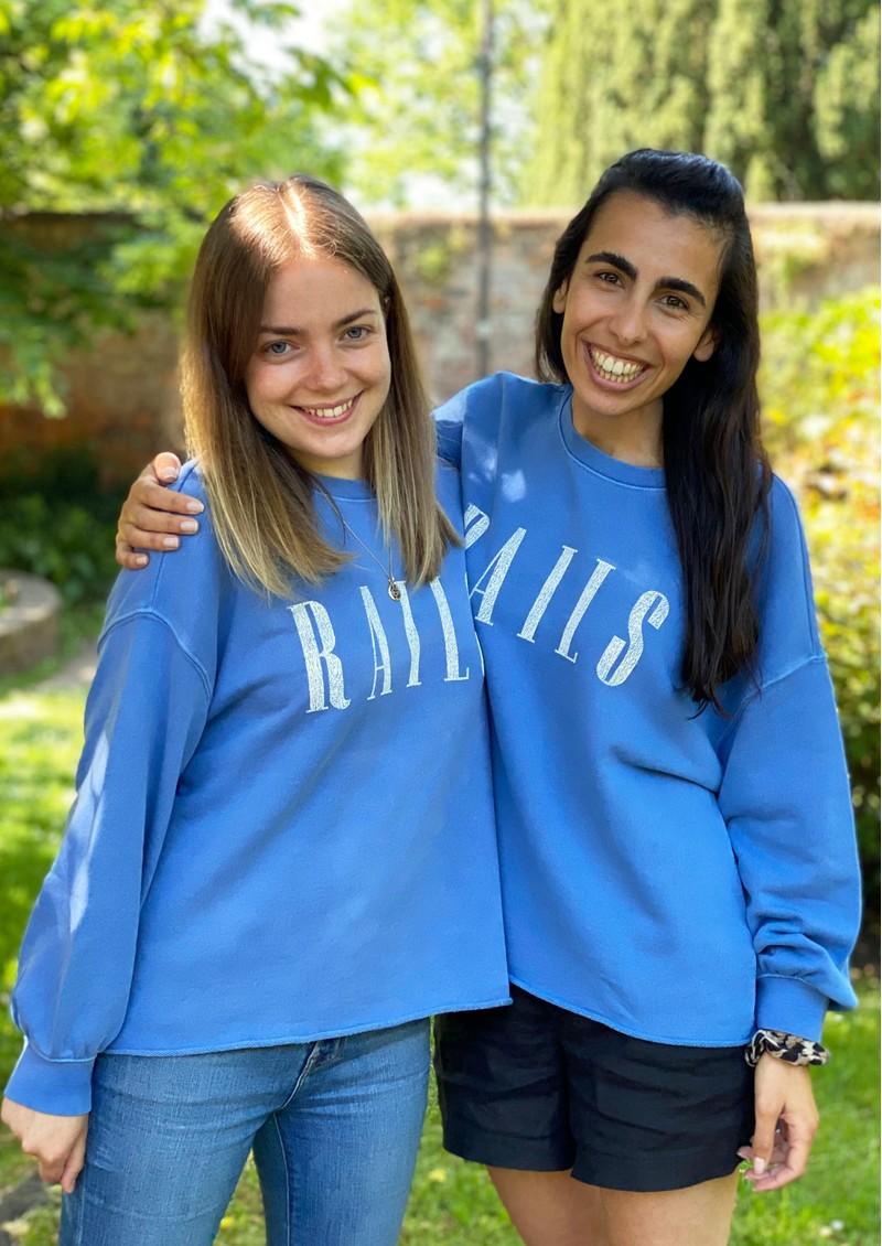 Rails Rails Signature Sweatshirt - Washed Indigo main image