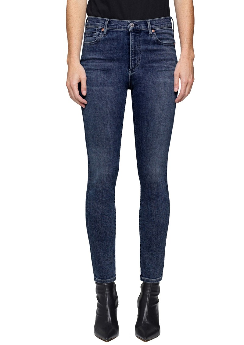 CITIZENS OF HUMANITY Rocket High Rise Skinny Crop Jeans - Tide main image