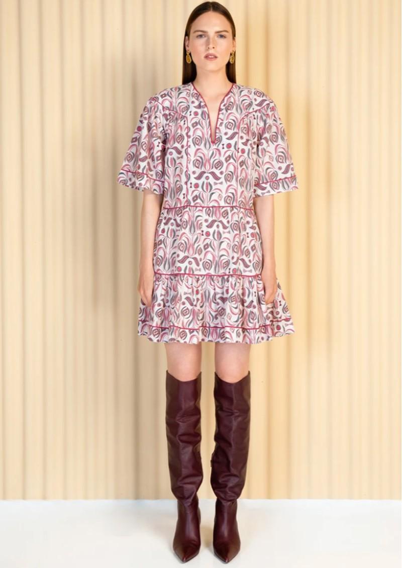 MAGALI PASCAL Lula Cotton Mix Dress - Bhumi main image