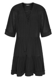 MAGALI PASCAL Celeste Cotton Dress - Black