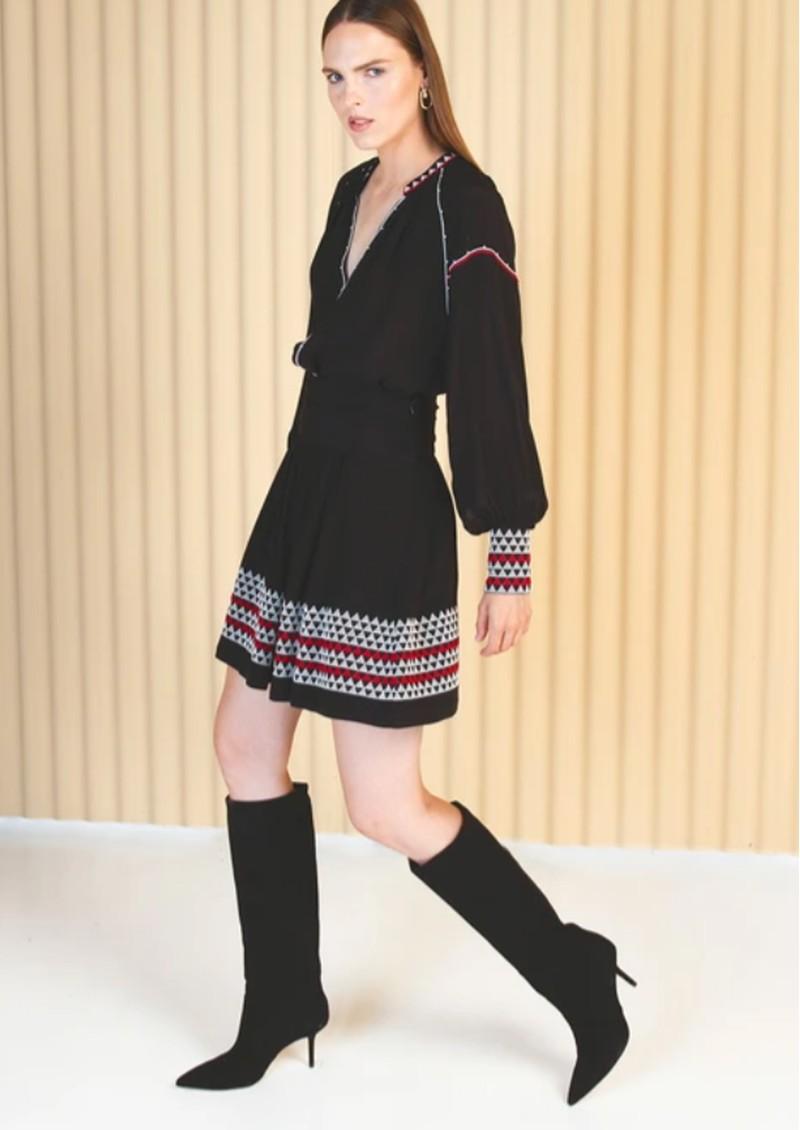 MAGALI PASCAL Alexi Skirt - Off Black main image