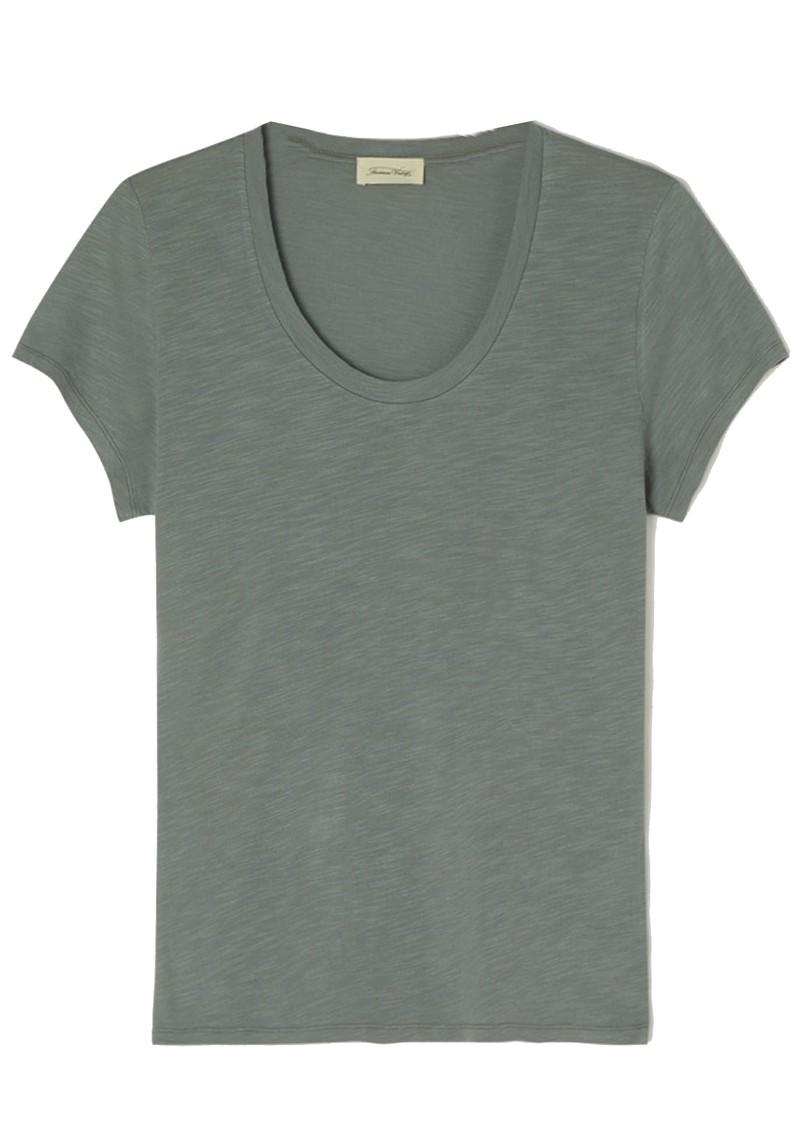 American Vintage Jacksonville U Neck Short Sleeve T-Shirt - Vintage Silex main image