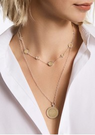 ANNA BECK Classic Station Necklace - Gold & Silver