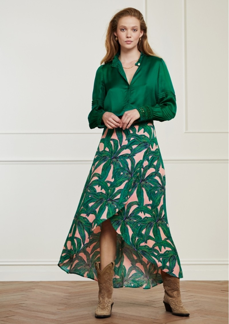 FABIENNE CHAPOT Cora Skirt - La La Leaves main image